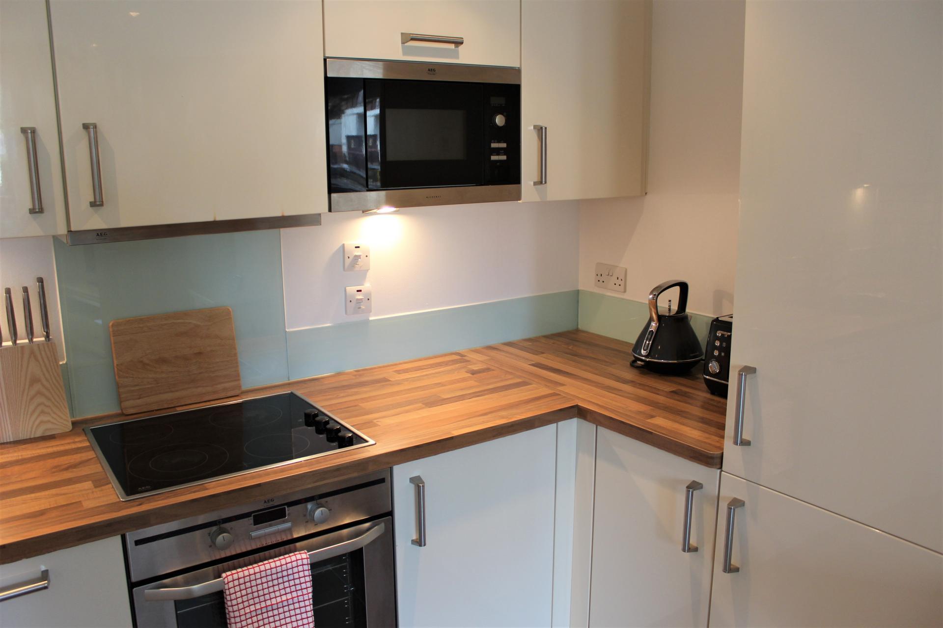 Kitchen at Gunwharf Quays Apartments, Gunwharf Quays, Portsmouth - Citybase Apartments