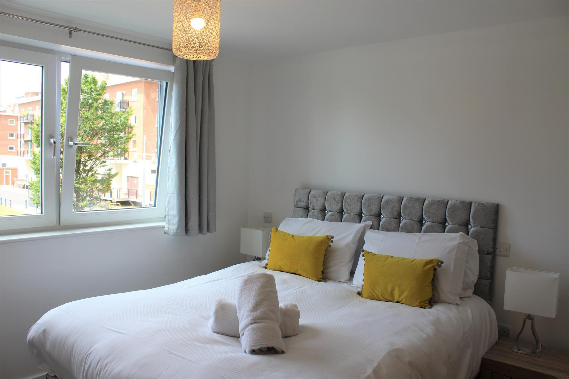 Towels at Gunwharf Quays Apartments, Gunwharf Quays, Portsmouth - Citybase Apartments