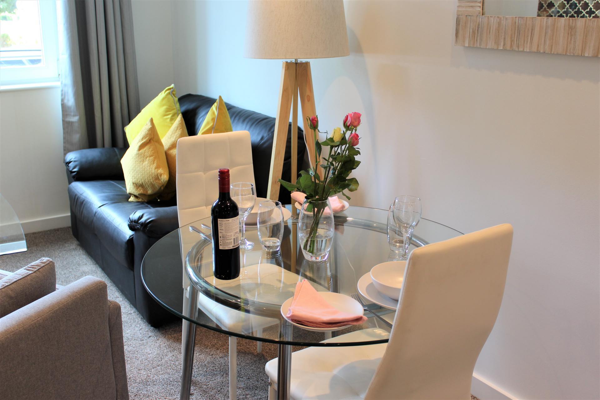 Table at Gunwharf Quays Apartments, Gunwharf Quays, Portsmouth - Citybase Apartments
