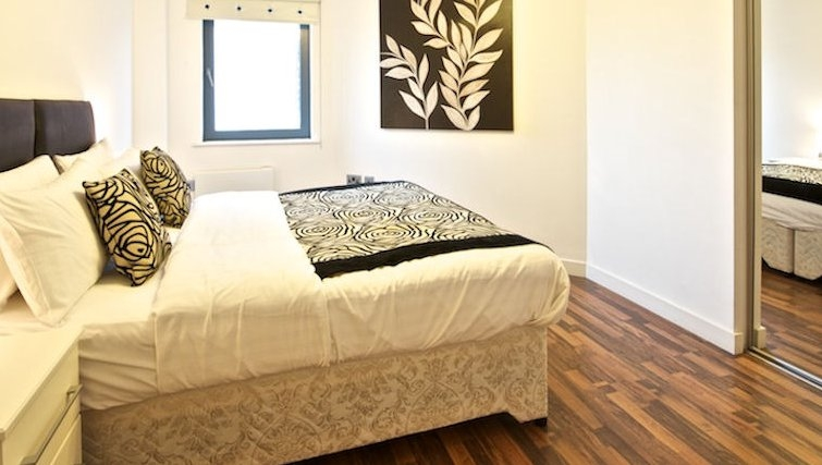 Executive bedroom in Bloom Apartments - Citybase Apartments