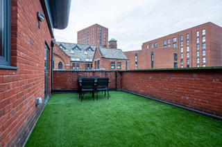 Outside area at Bloom Apartments, Centre, Manchester - Citybase Apartments