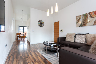 Sofa at Bloom Apartments, Centre, Manchester - Citybase Apartments