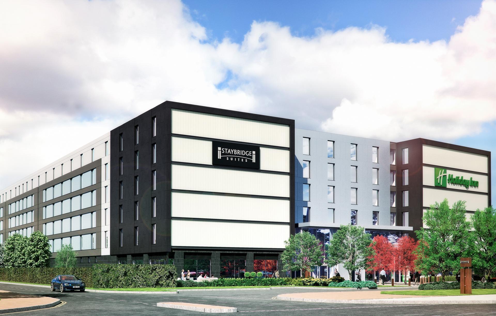 Exterior at Staybridge Heathrow Apartments - Citybase Apartments