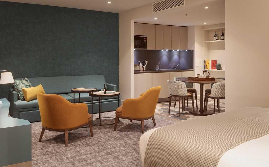 Lounge at Staybridge Heathrow Apartments - Citybase Apartments