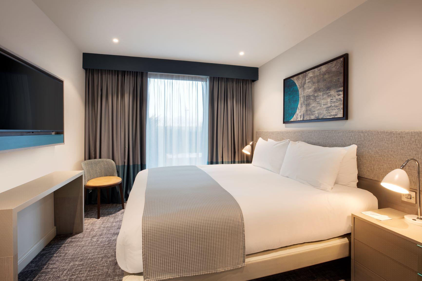 Bedroom at Staybridge Heathrow Apartments - Citybase Apartments