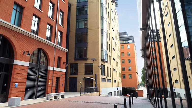 Outside of SACO Birmingham - Brindley Place - Citybase Apartments