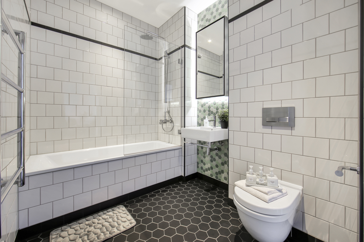 Bathroom at Modena Serviced Apartments - Citybase Apartments