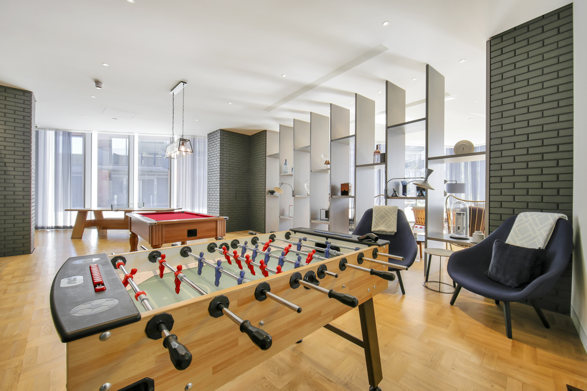 Pool table at Modena Serviced Apartments - Citybase Apartments