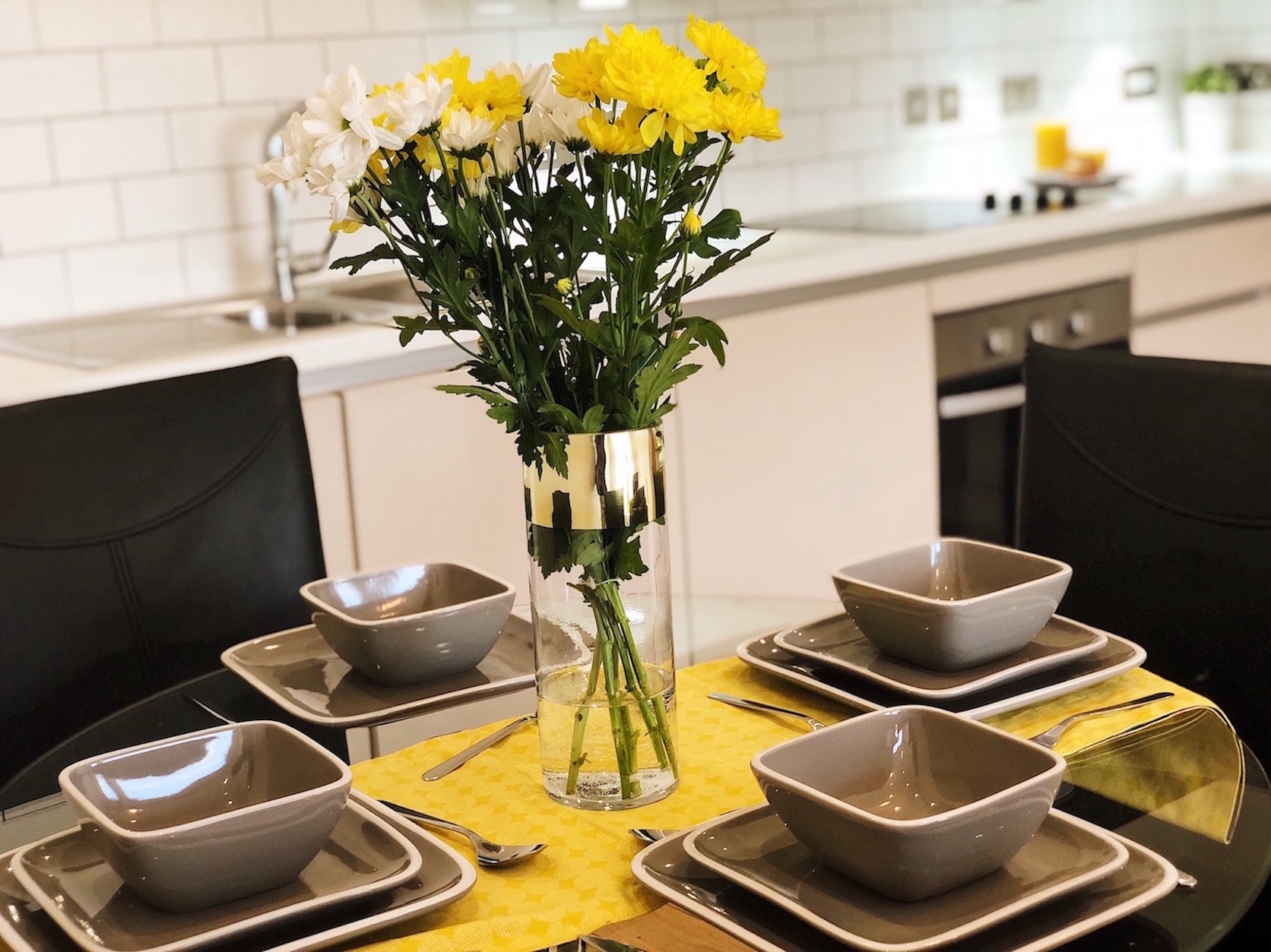 Kitchen at Ekhaya Apartments - Citybase Apartments
