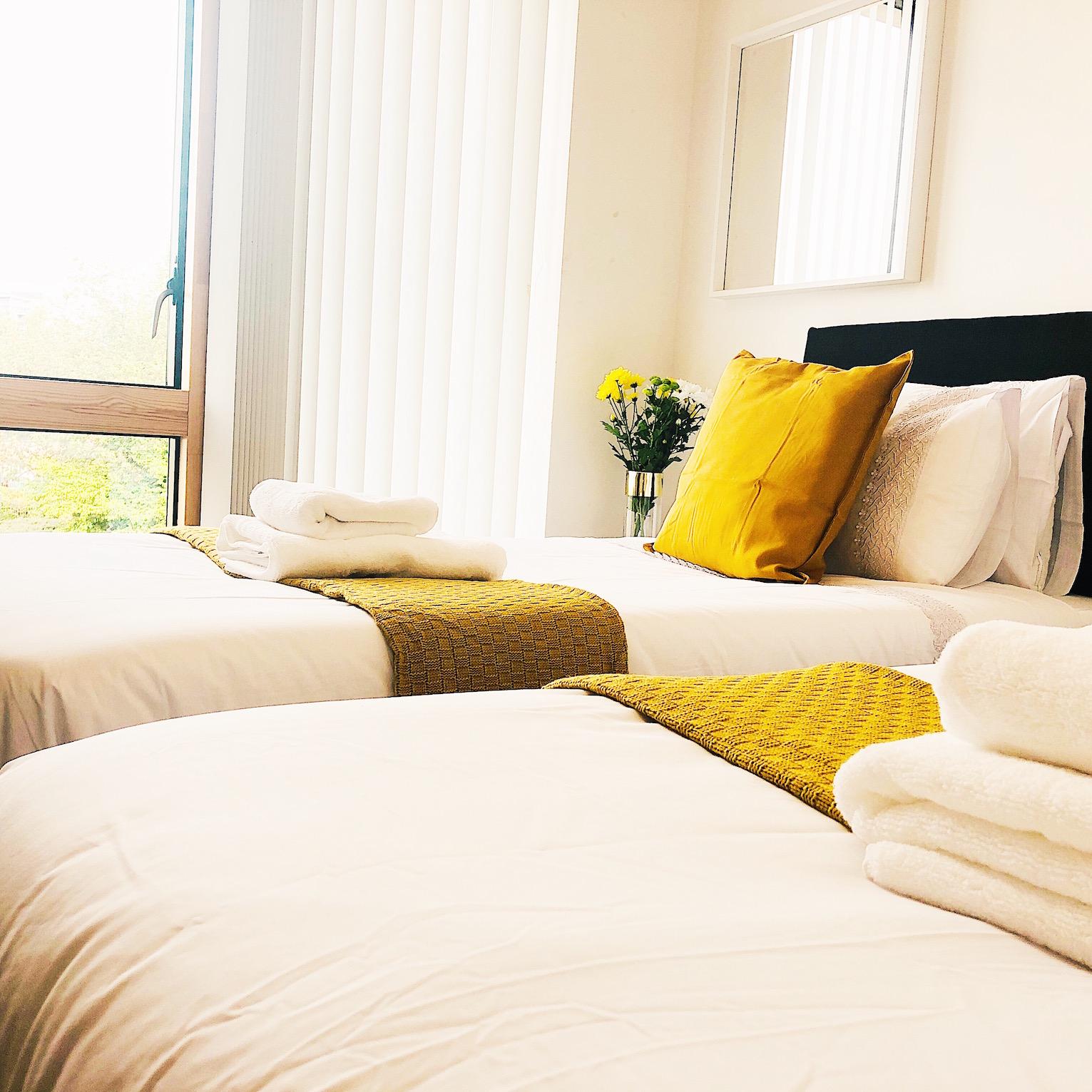 Bedroom at Ekhaya Apartments - Citybase Apartments