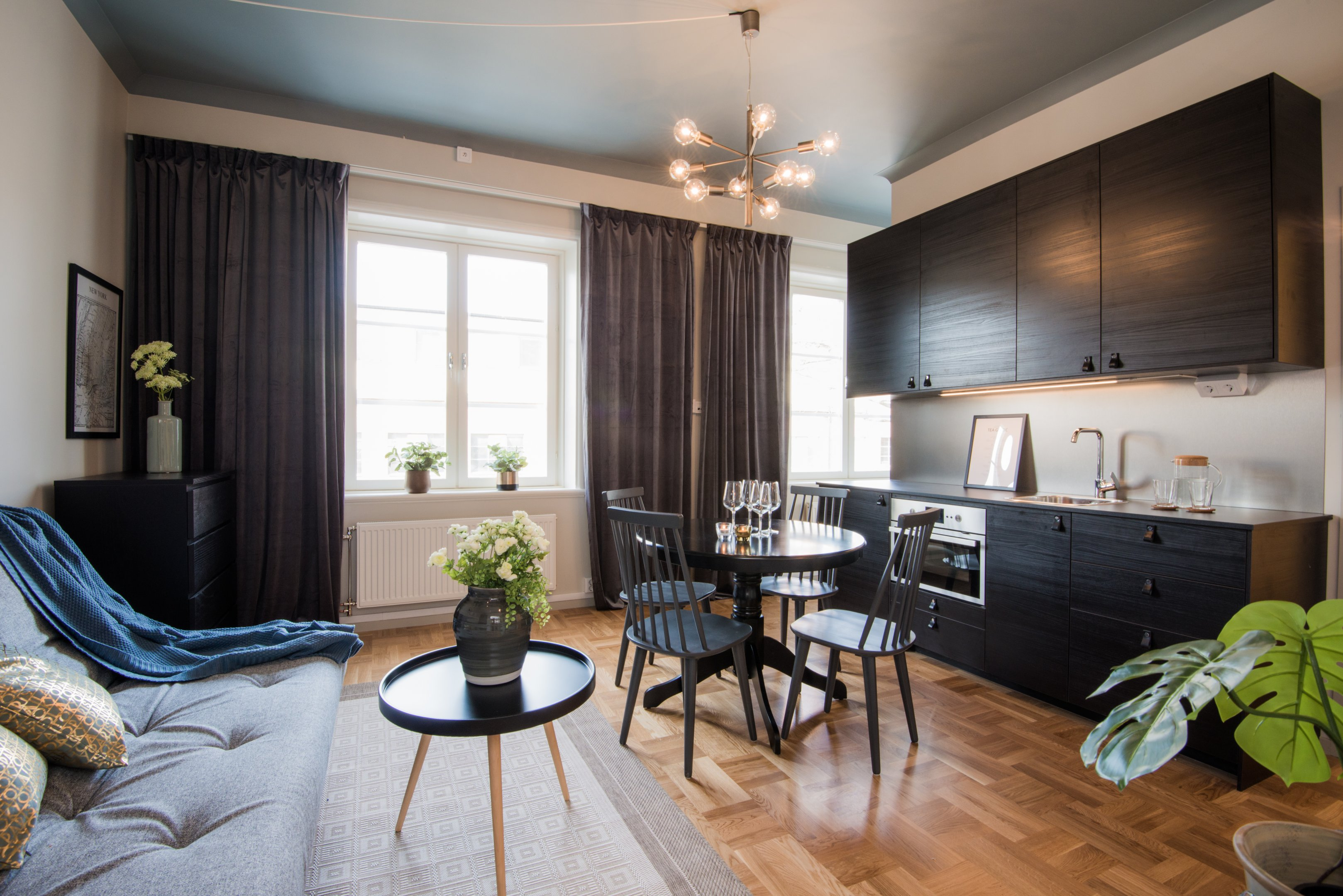 Living room at Voltavagen Apartment - Citybase Apartments