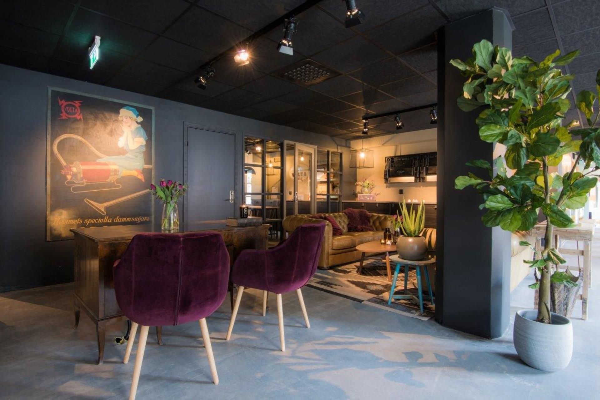Reception at Voltavagen Apartment - Citybase Apartments
