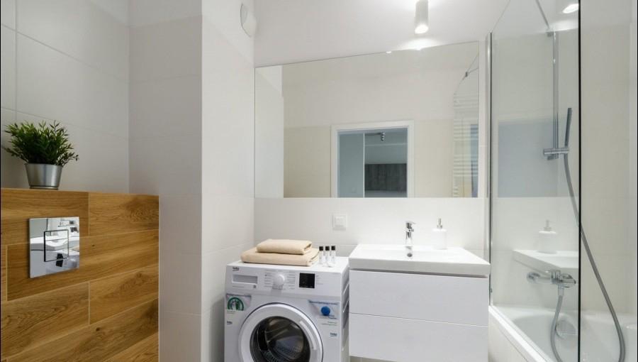 Bathroom at Apartments Soho Factory - Citybase Apartments