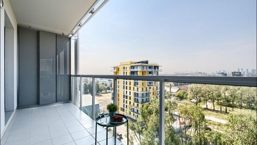 Balcony at Apartments Soho Factory - Citybase Apartments