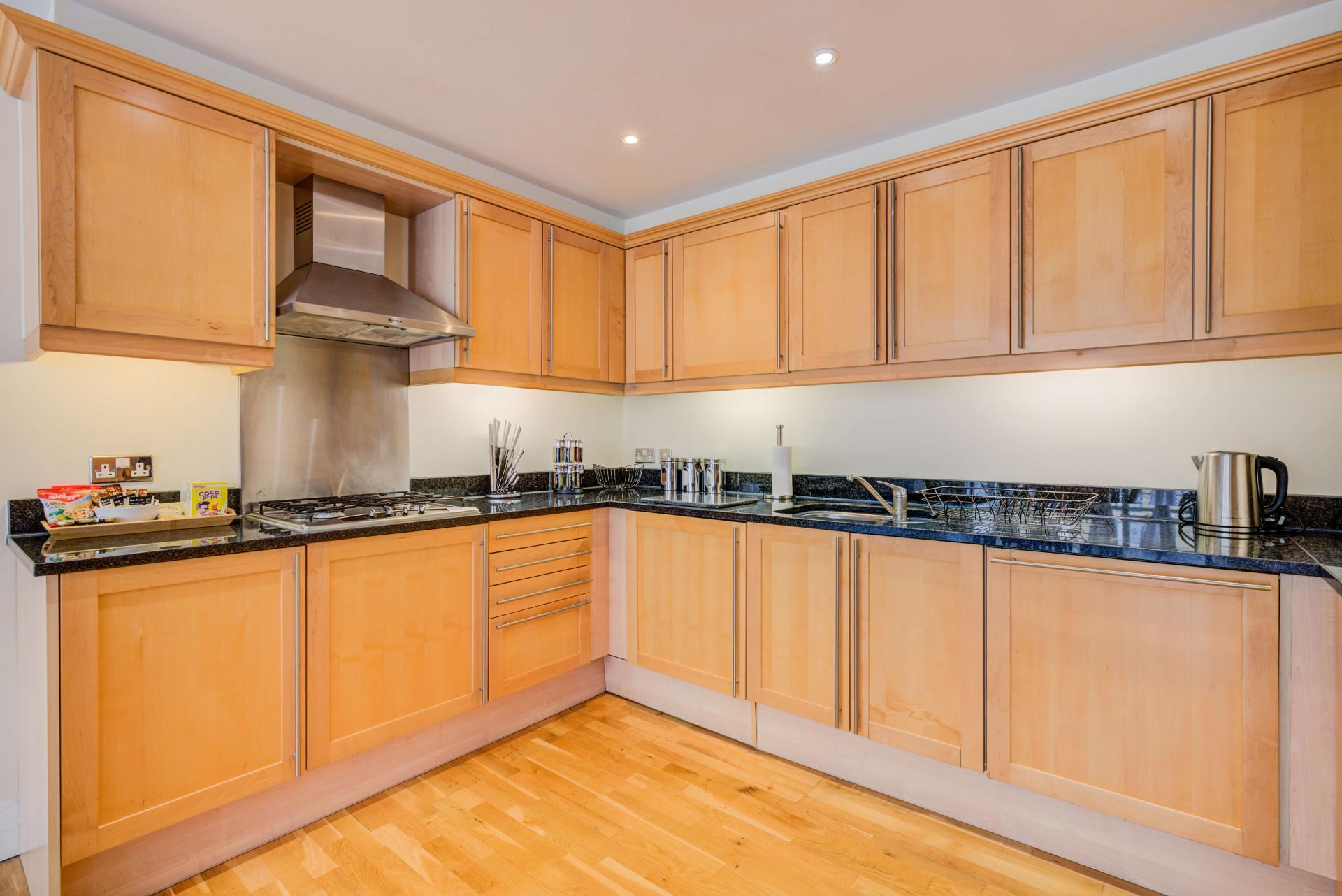 Kitchen at Town Meadow Apartment - Citybase Apartments