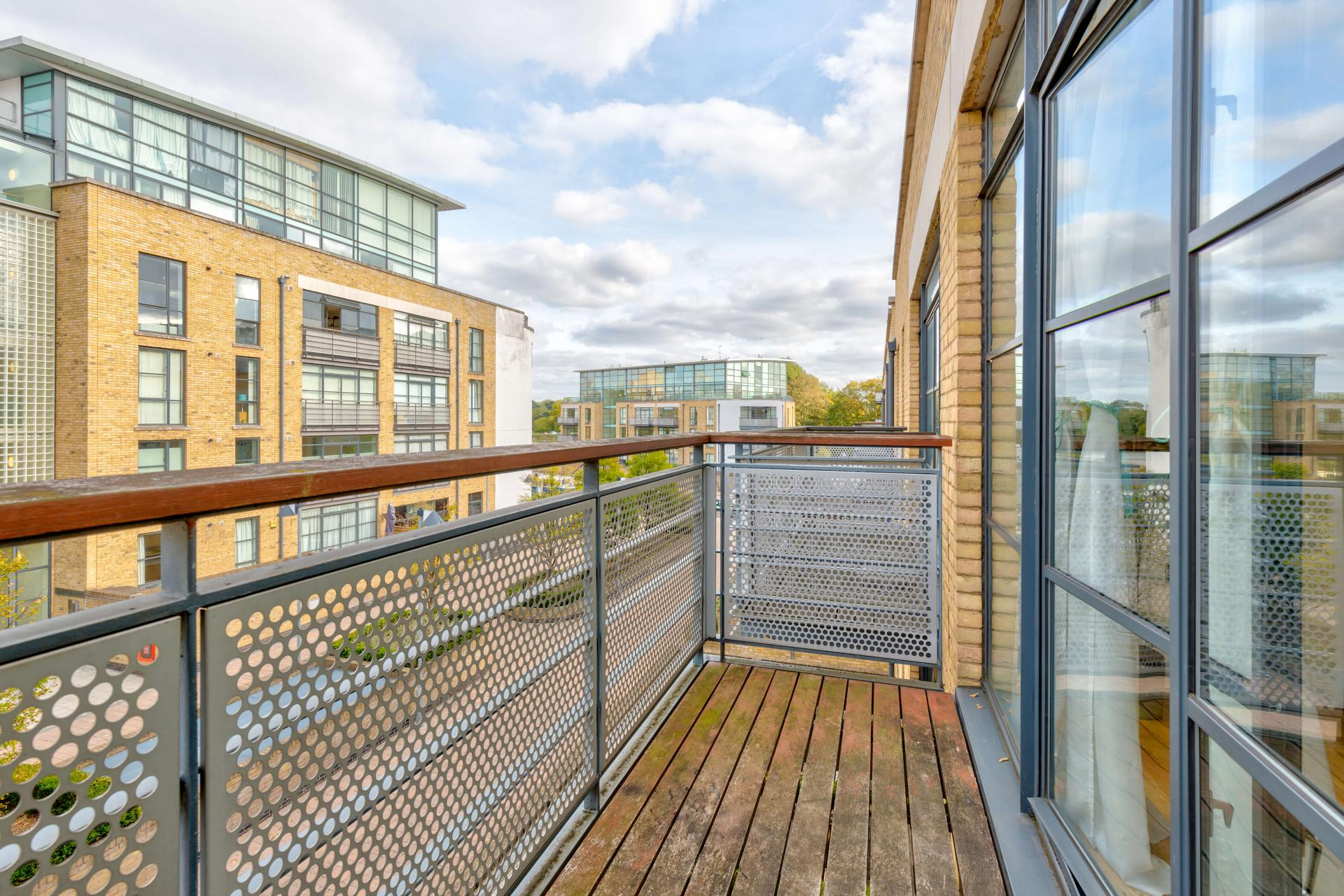 Balcony at Town Meadow Apartment - Citybase Apartments