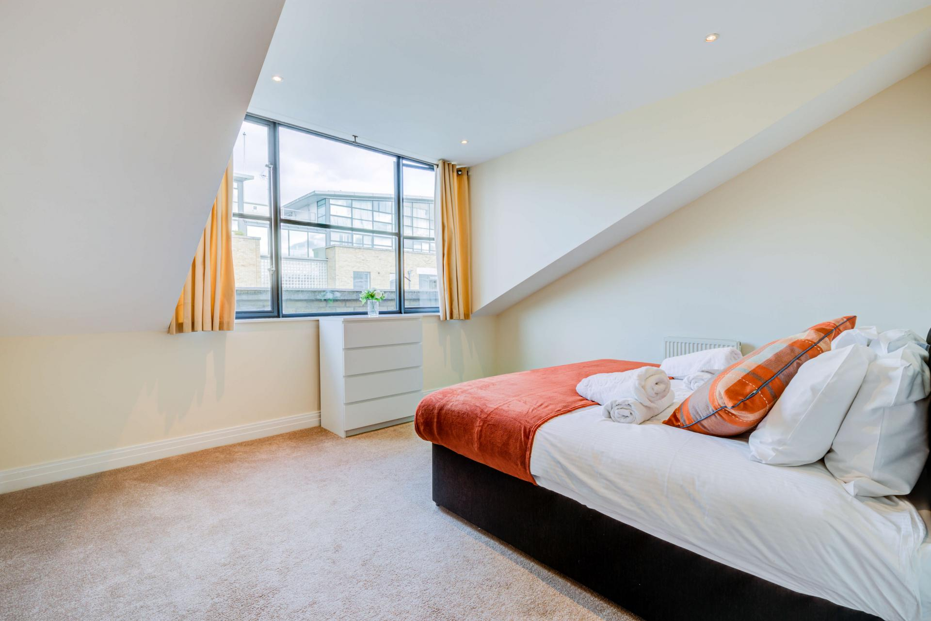 Bedroom at Town Meadow Apartment - Citybase Apartments