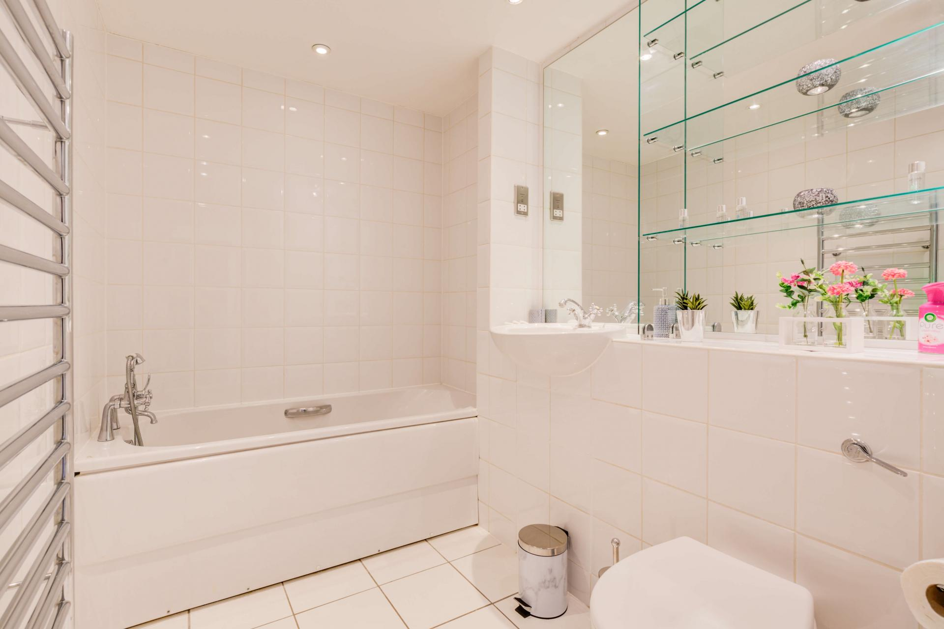 Bathroom at Town Meadow Apartment - Citybase Apartments
