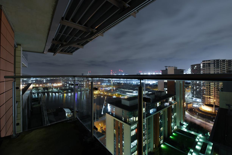 Balcony area at Oxygen Apartments - Citybase Apartments