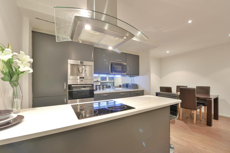 Kitchen at Oxygen Apartments - Citybase Apartments