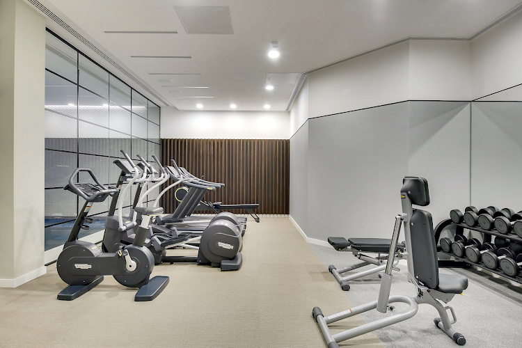 Gym at Emerson Court Apartments - Citybase Apartments