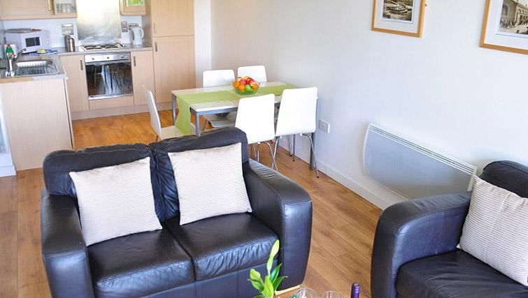 Open plan kitchen at Ocean Serviced Apartments - Citybase Apartments