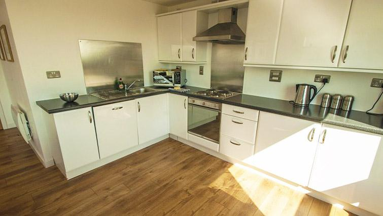 Kitchen at Ocean Serviced Apartments - Citybase Apartments
