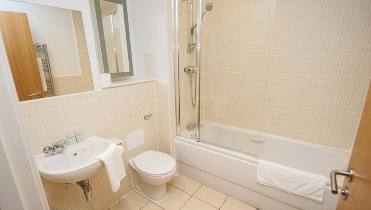 Bathroom at Ocean Serviced Apartments - Citybase Apartments