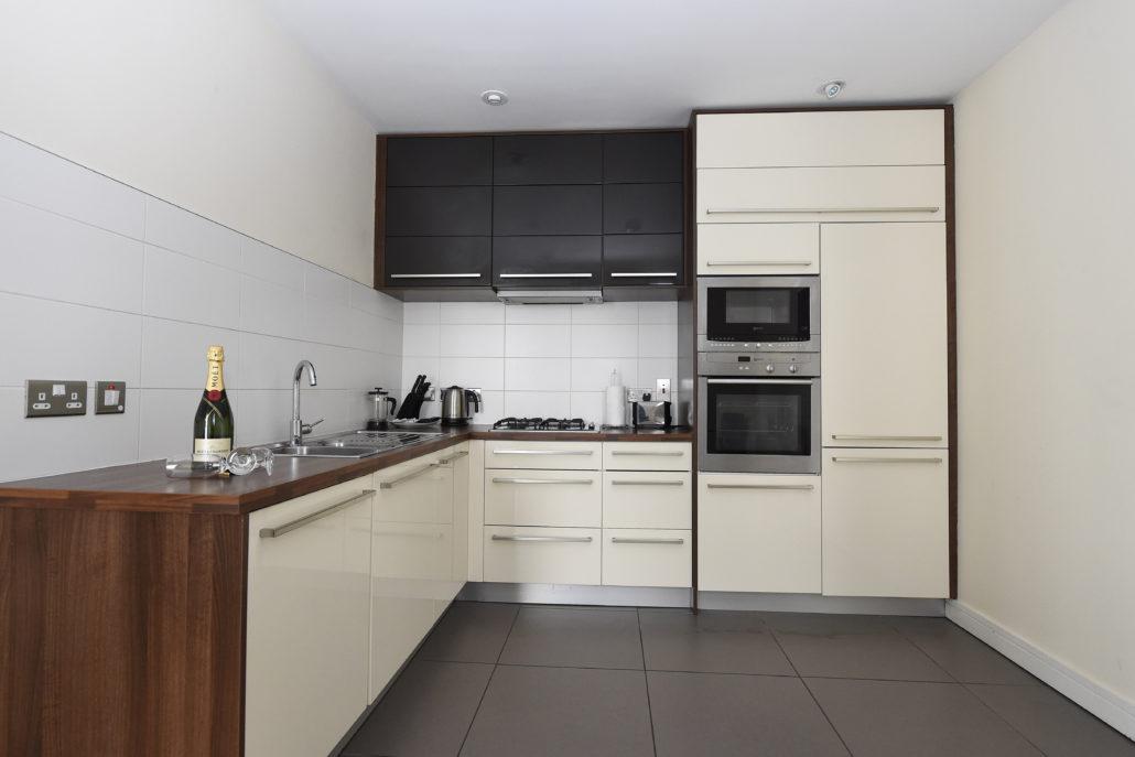 Kitchen at Titanic Arc Apartments - Citybase Apartments