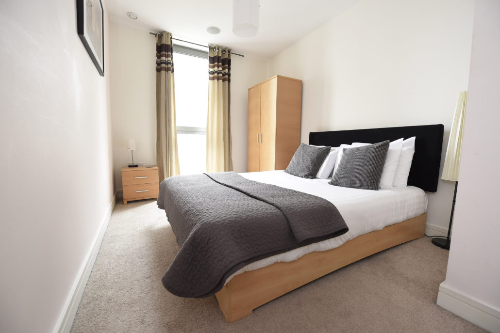 Bedroom at Titanic Arc Apartments - Citybase Apartments
