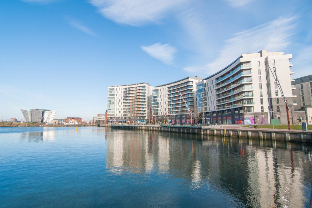 View at Titanic Arc Apartments - Citybase Apartments