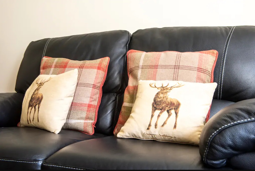 Sofa at Castle Wynd South Apartment - Citybase Apartments