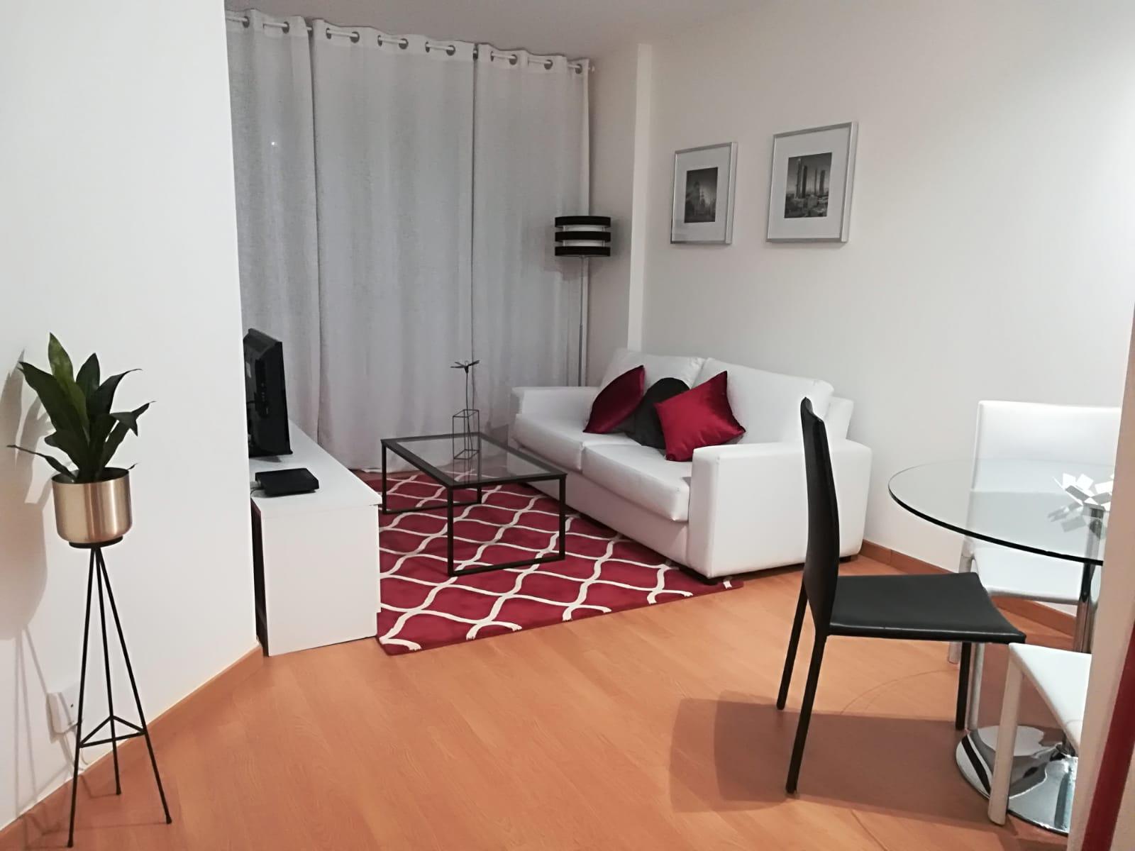 Living room at Goya 34 Apartment - Citybase Apartments