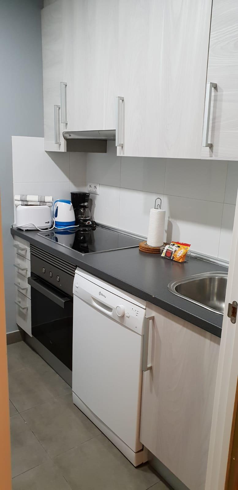 Kitchen at Goya 34 Apartment - Citybase Apartments