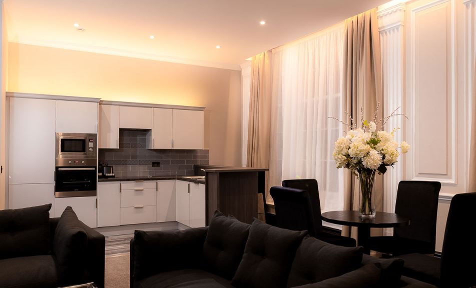 Kitchen at County Aparthotel - Citybase Apartments