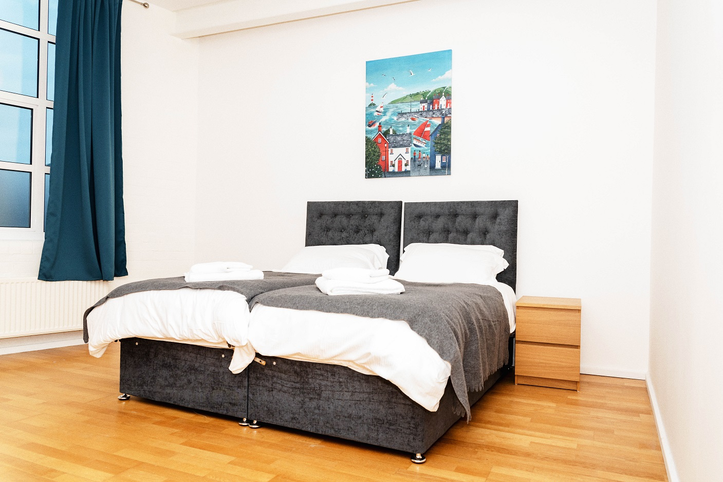 Bedroom at Radford Apartment, Basford, Nottingham - Citybase Apartments