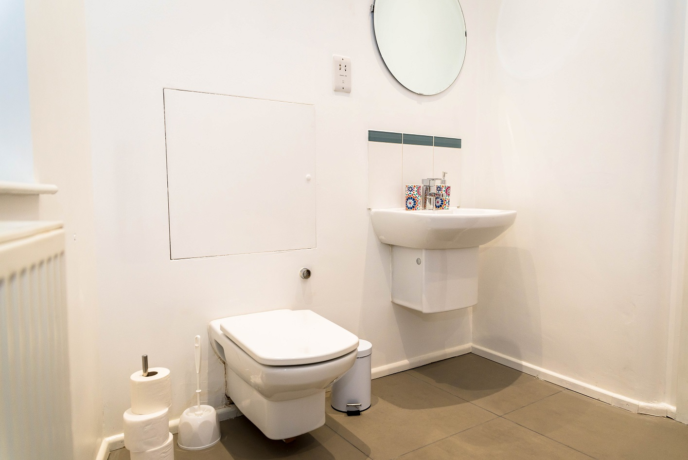 WC at Radford Apartment, Basford, Nottingham - Citybase Apartments