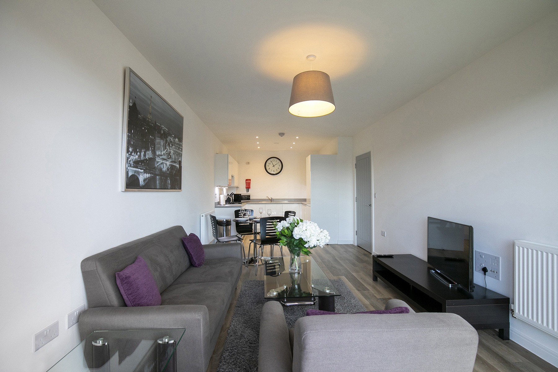 Purple at Wey Corner Apartment, Centre, Guildford - Citybase Apartments