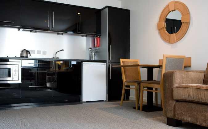Kitchen at Skene House Rosemount Apartments - Citybase Apartments