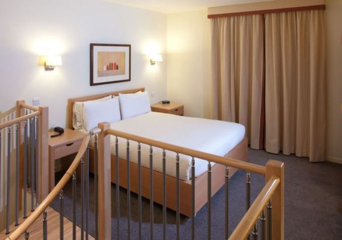 Bedroom at Skene House Rosemount Apartments - Citybase Apartments