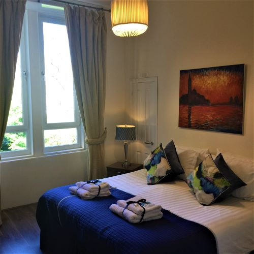 Bedroom at Trefoil Apartment - Citybase Apartments