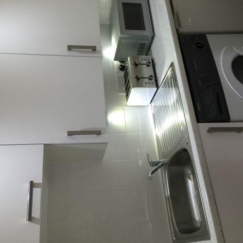 Kitchen at Trefoil Apartment - Citybase Apartments