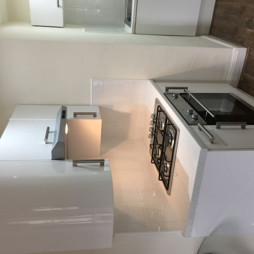 Equipped kitchen at Trefoil Apartment - Citybase Apartments