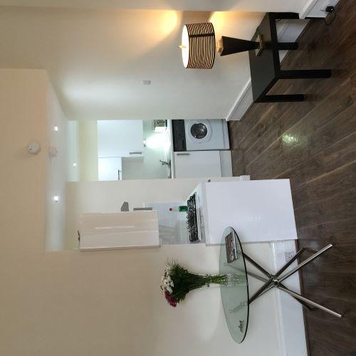 Modern kitchen at Trefoil Apartment - Citybase Apartments