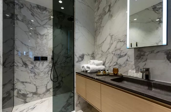 Bathroom at Soho Serviced Apartments - Citybase Apartments