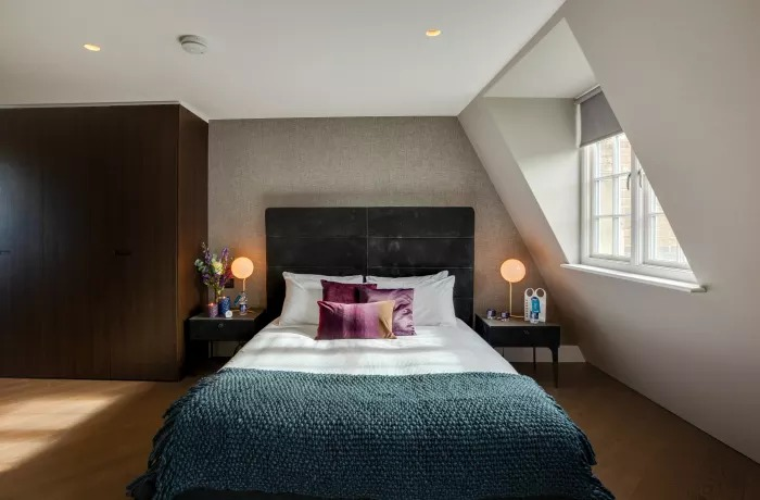 Comfortable bed at Soho Serviced Apartments - Citybase Apartments