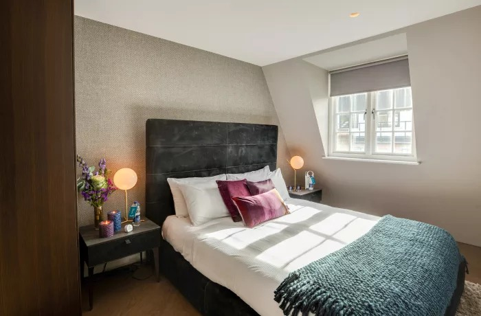 Bedroom at Soho Serviced Apartments - Citybase Apartments