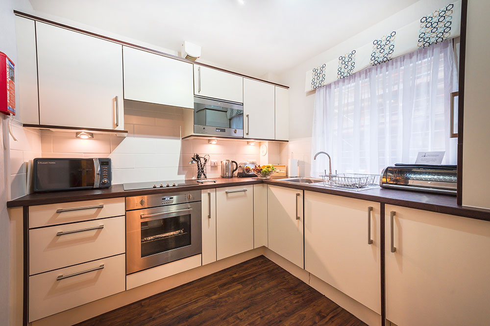 Kitchen at The Knight Residence, Old Town, Edinburgh - Citybase Apartments