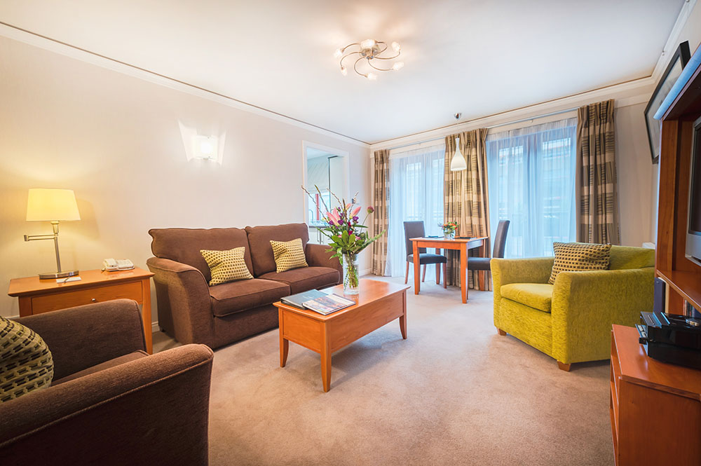 Dining area at The Knight Residence, Old Town, Edinburgh - Citybase Apartments