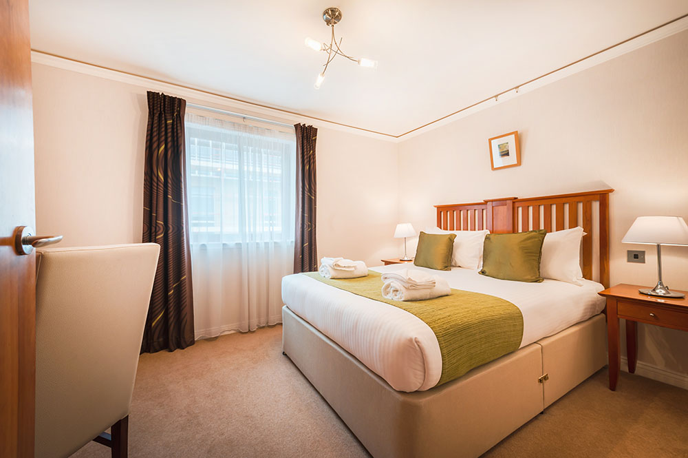 Bedding at The Knight Residence, Old Town, Edinburgh - Citybase Apartments